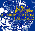 KPMG Business Administration Paper 2012 - Slogan Challenge