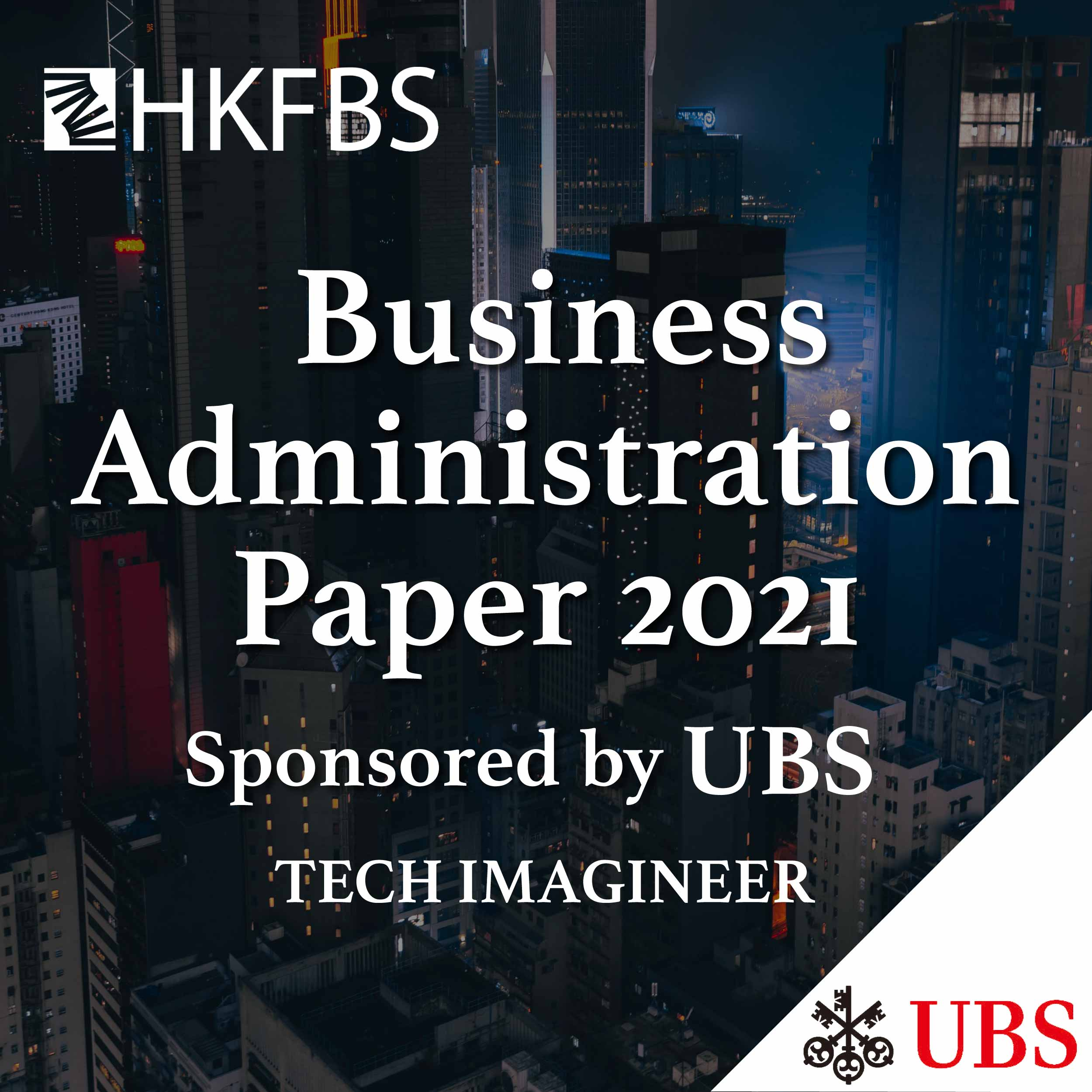 Business Administration Paper 2021 Sponsored by UBS