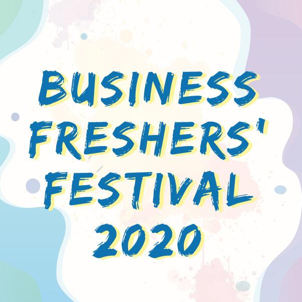 Business Freshers' Festival 2020