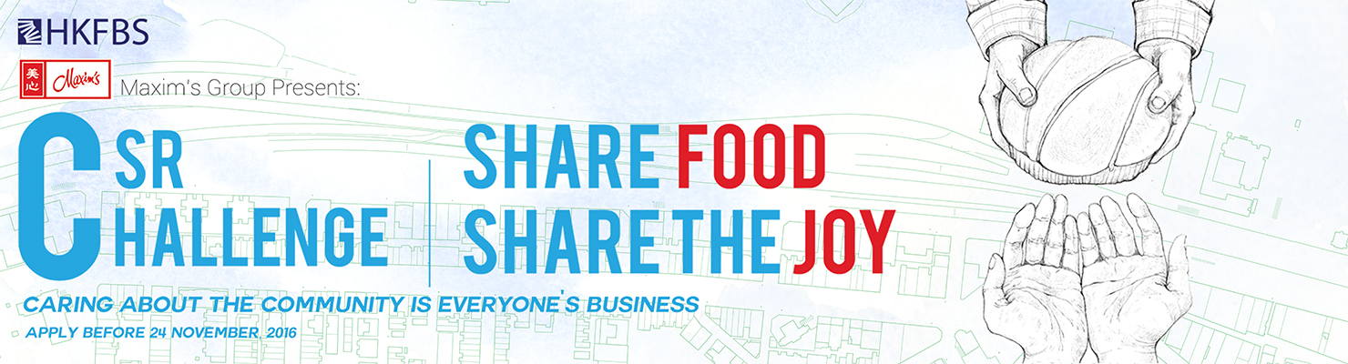 CSR Challenge 2016 - Share the food • Share the Joy