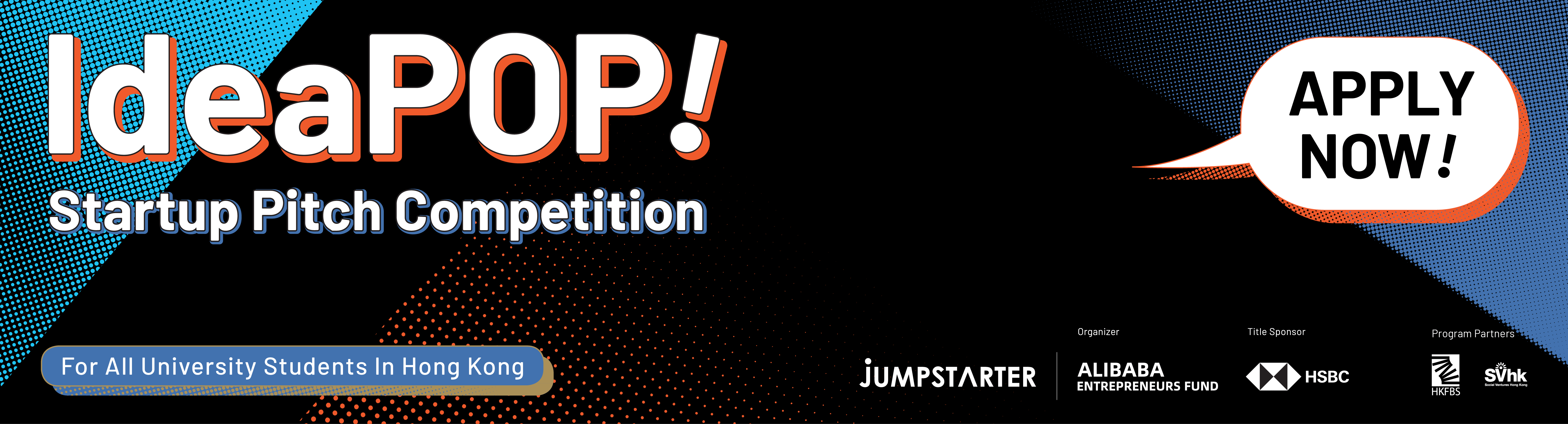 JUMPSTARTER IdeaPOP! is a first-of-its-kind entrepreneurial even