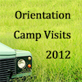 Orientation Camp Visits 2012