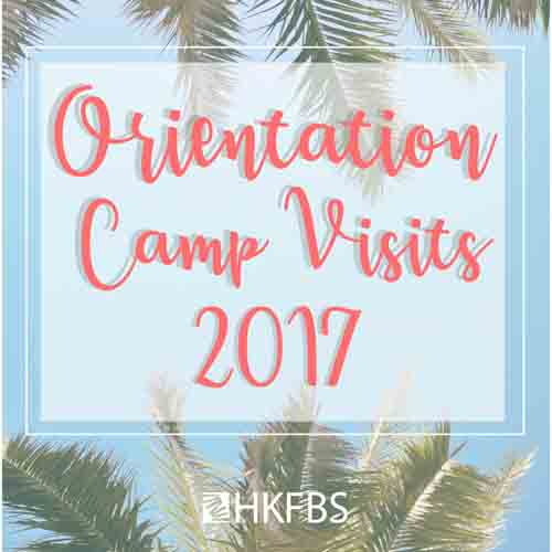 Orientation Camp Visits 2017